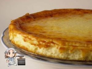 Pastel de queso tierno: para los que os gusten con sabor a requesón :)