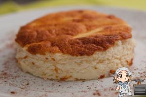 Tarta de queso tuduri: una textura diferente, no es la clásica tarta de queso, pero estaba muy ligera :)
