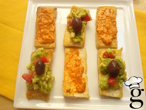 aperitivo tofu salsitas glutoniana 1