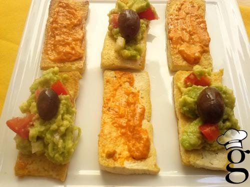 aperitivo tofu salsitas glutoniana 3