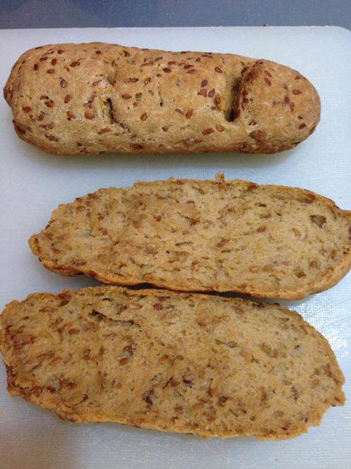 Mònica López los hizo sustituyendo la harina de trigo sarraceno por la de teff.