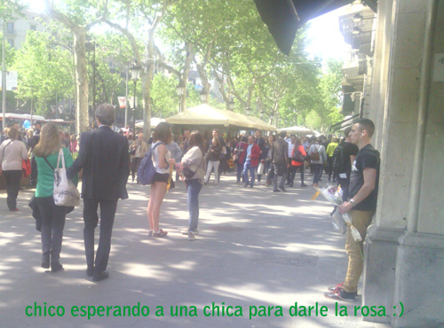 chico_esperando_santJordi2015