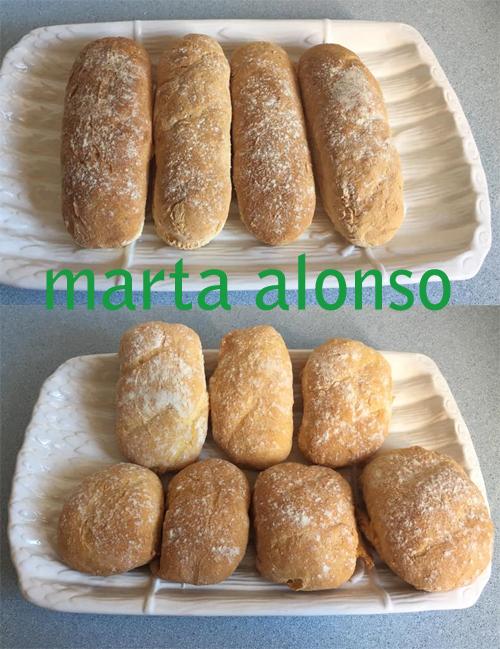 Chulísimos le quedaron a Marta Alonso :)