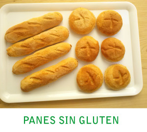 Panes sin gluten