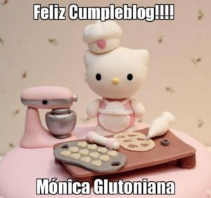 Uno de las felicitaciones que recibí en Facebook fue la de Teresa. ¡Me encantó! :)