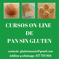 Cursos de pan sin gluten.